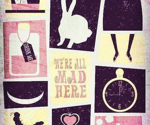 wallpaper, alice in wonderland, and background image