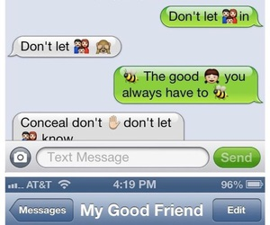 iphone, texts, and funny texts image