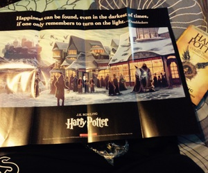 book, excited, and harry potter image