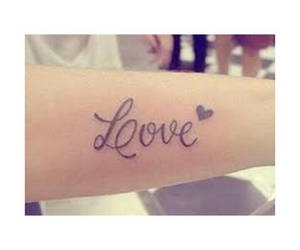 life, tattos, and love image