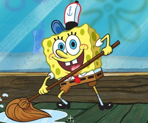 cartoons and spongebob squarepants image