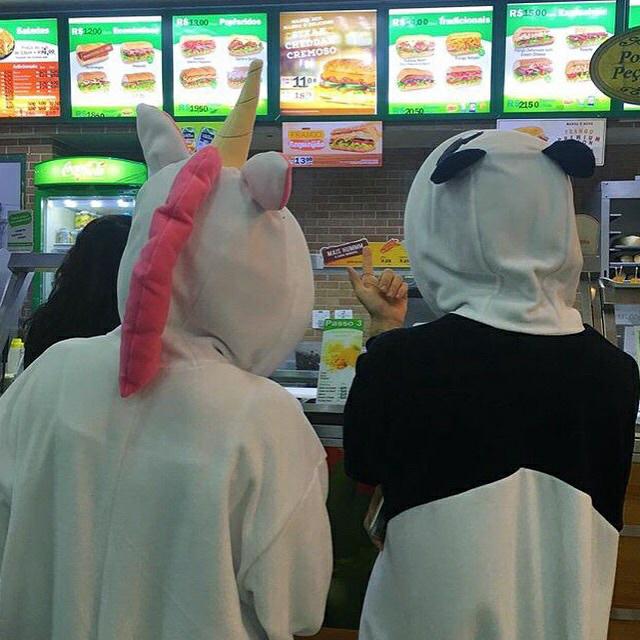 unicorn, panda, and friends image