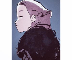 game of thrones and lyanna mormont image