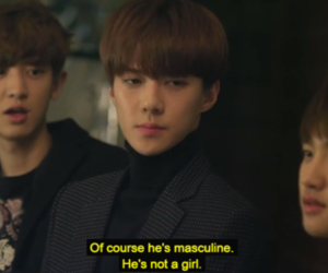 exo, quote, and sehun image