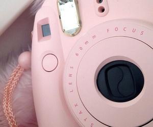 pastel, camera, and pink image