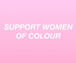 pink, empowerment, and support image