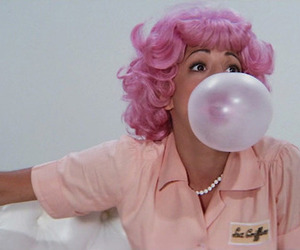 grease, pink, and bubblegum image