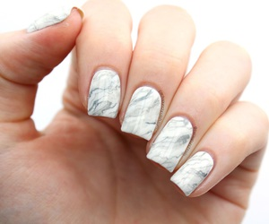 marble, nails, and style image