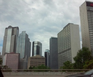 blue, buildings, and Dallas image
