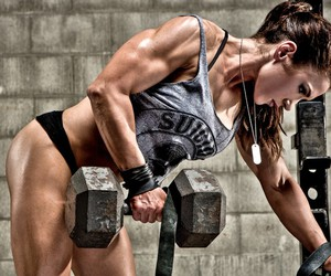 fitness, girl power, and gym image