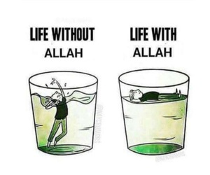 allah, drown, and float image