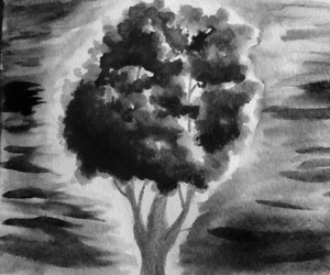arbol, art, and drawing image
