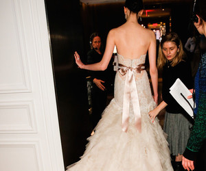 backstage, fashion, and haute couture image