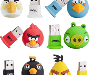 angry birds usb drive and angry birds pen drive image