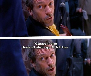 hugh laurie, dr house, and house image