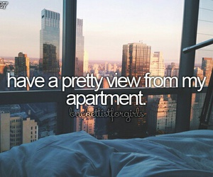 bucket list, bucketlist, and apartment image