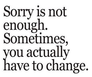 quotes, sorry, and change image