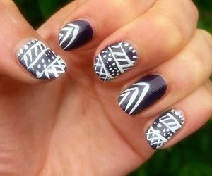 art, nails, and nailart image