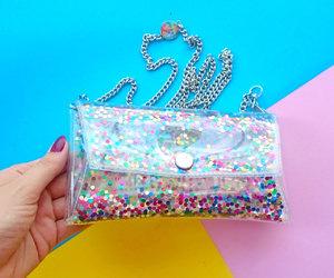 etsy, rainbow glitter, and iphone case image