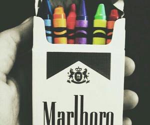 marlboro, cigarette, and colors image