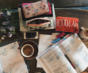 stationery, college, and motivation image