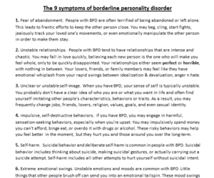 disorder, problems, and symptoms image