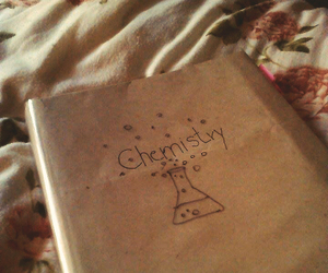 book, chemistry, and dark image