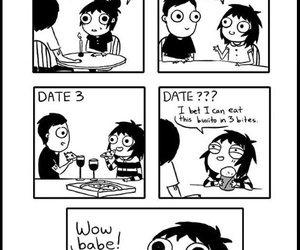 burger, burrito, and comic image