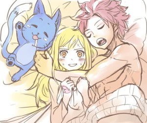 anime, bed, and fairy tail image