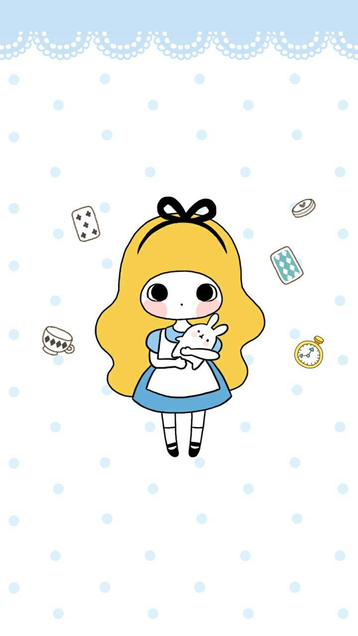 Bongja Art Art Girl Baby Baby Doll Background Beautiful Beautiful Girl Beauty Beauty Girl Blue Cartoon Colorful Cute Baby Design Dots Drawing Girl Illustration Illustration Girl Kawaii Little Girl Pastel Wallpapers We Heart