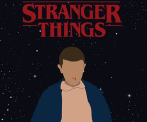 eleven and stranger things image