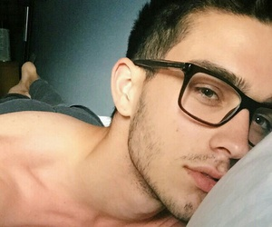 boy, glasses, and Hot image
