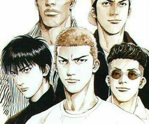 anime, slam dunk, and manga image