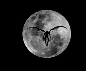 death note and moon image