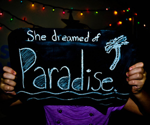 paradise, photography, and coldplay image