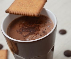 gourmandise and chocolat chaud image