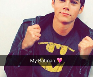 dylan o'brien, teen wolf, and batman image