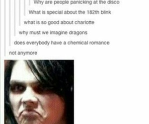 band, my chemical romance, and blink 182 image