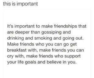 friendship, true, and bestfriends image