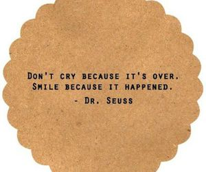 quotes, smile, and cry image