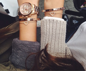 bracelet, watch, and friends image