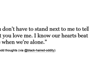 alone, deep, and heart image