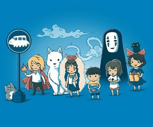 anime and studio ghibli image