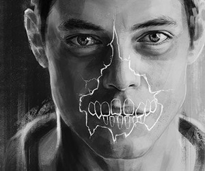 ghost, handsome, and mrrobot image