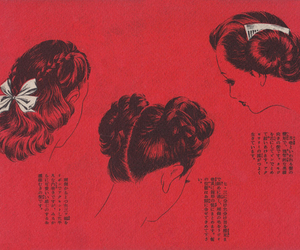 bun, hair, and hairdo image