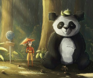 avatar, panda, and crossover image