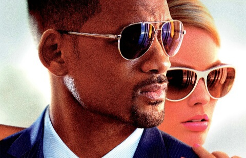 movie, margot robbie, and will smith image