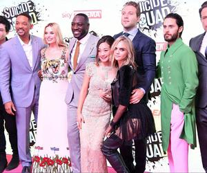 30 seconds to mars, margot robbie, and suicide squad image