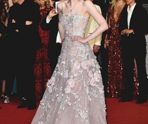 Elle Fanning, dress, and fashion image
