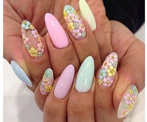 nails, easter, and nail art image